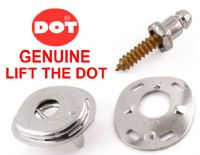 "LIFT THE DOT canopy boat cover fastener kit 5/8"" stainless screw stud plate"